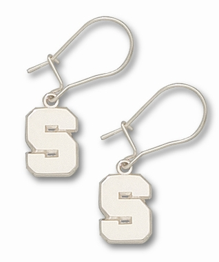 Michigan State Sterling Silver Post or Dangle Earrings