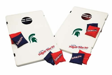 Michigan State Tailgate Toss 2.0 Cornhole Beanbag Game