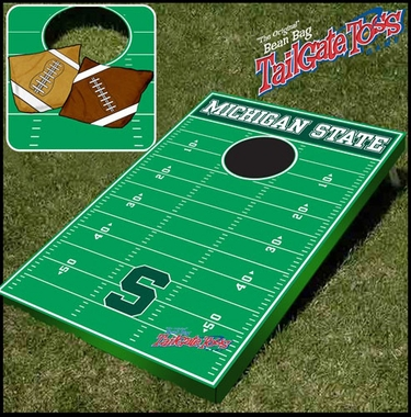Michigan State Tailgate Toss Cornhole Beanbag Game
