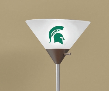 Michigan State Torchierre Floor Lamp