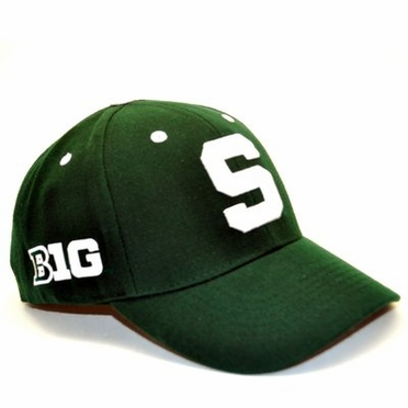 Michigan State Triple Conference Adjustable Hats