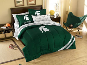 Michigan State Twin Bed in a Bag