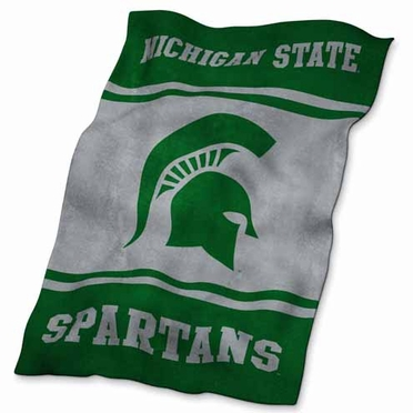 Michigan State UltraSoft Blanket