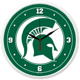Michigan State Wall Clock