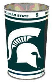 Michigan State Waste Paper Basket