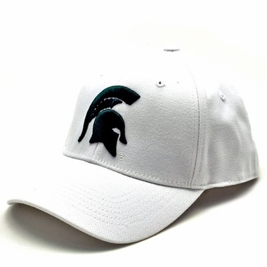 Michigan State White Premium FlexFit Hat