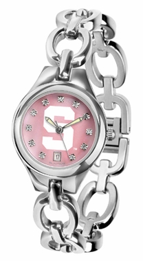 Michigan State Women's Eclipse Mother of Pearl Watch
