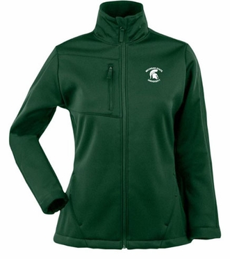 Michigan State Womens Traverse Jacket (Team Color: Green)