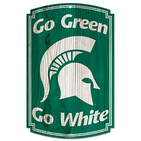 Michigan State Wood Sign