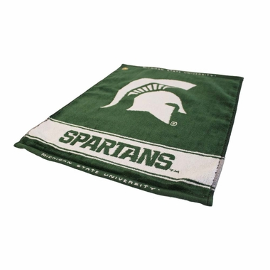Michigan State Woven Golf Towel