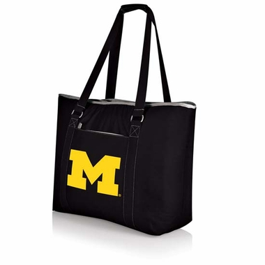 Michigan Tahoe Beach Bag (Black)