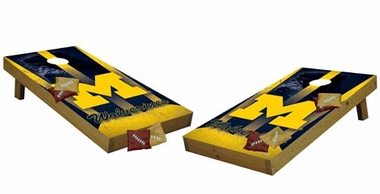 Michigan Tailgate Toss Cornhole (Shields)