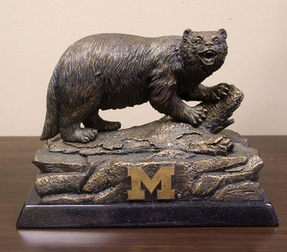 Michigan Tim Wolfe Statue