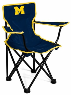Michigan Toddler Folding Logo Chair