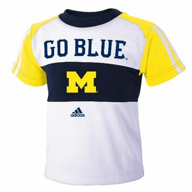 Michigan Toddler Mesh Crew Shirt & Shorts Set