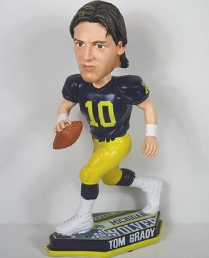 Michigan Tom Brady Thematic Base Bobblehead