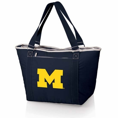 Michigan Topanga Embroidered Cooler Bag (Navy)