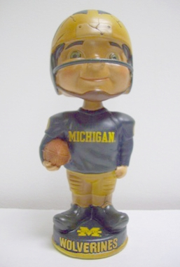 Michigan Vintage Retro Bobble Head