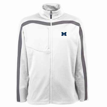 Michigan Mens Viper Full Zip Performance Jacket (Team Color: Navy)