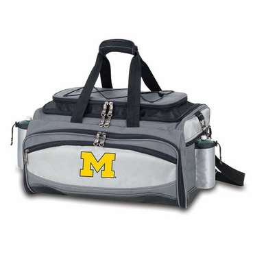 Michigan Vulcan Embroidered Tailgate Cooler (Black)