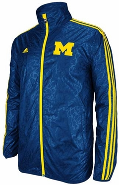 "Michigan Wolverines Adidas ""Crazy"" Lightweight Performance Jacket"