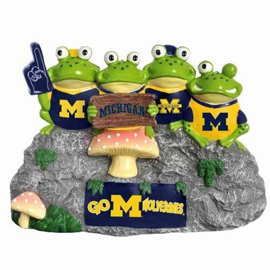 Michigan Wolverines Frog Fan Bench