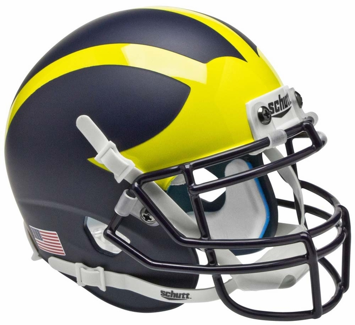 u of michigan football helmet pictures to pin on pinterest