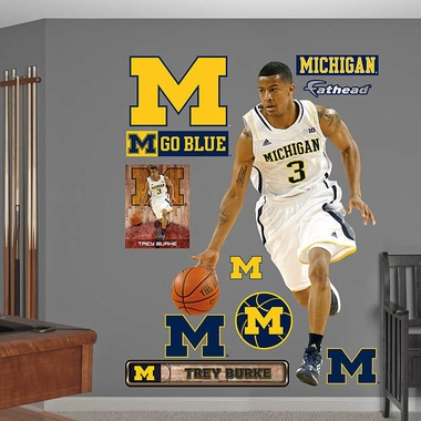 Michigan Wolverines Trey Burke Fathead Wall Graphic