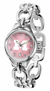 Michigan Women's Eclipse Mother of Pearl Watch