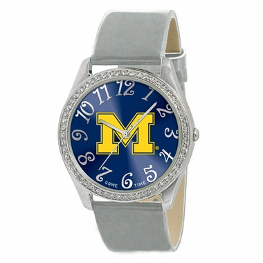 Michigan Women's Glitz Watch
