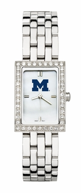 Michigan Women's Steel Band Allure Watch