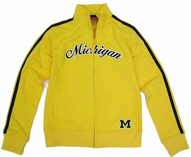 Michigan Womens Curve Full Zip Jacket