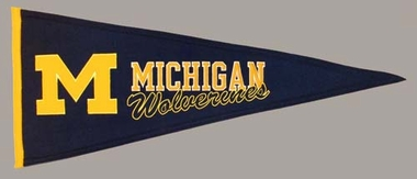 Michigan Wool Pennant