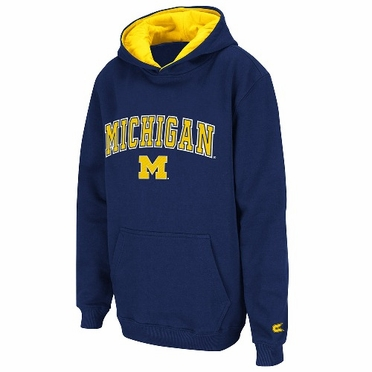 Michigan YOUTH Automatic Pullover Hooded Sweatshirt