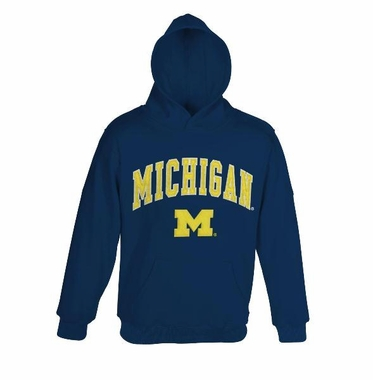 Michigan YOUTH Hooded Sweatshirt