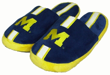 Michigan YOUTH Team Stripe Slide Slippers