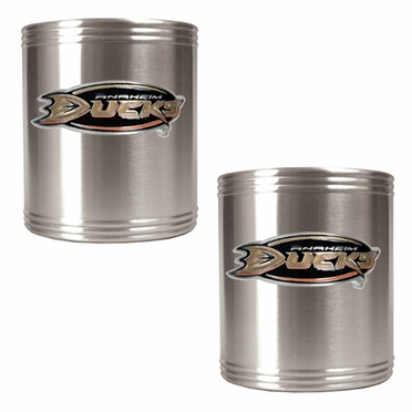 Anaheim Ducks 2 Can Holder Set