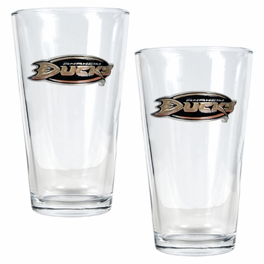Anaheim Ducks 2 Piece Pint Glass Set