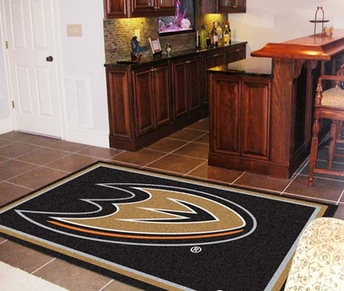 Anaheim Ducks 5 Foot x 8 Foot Rug