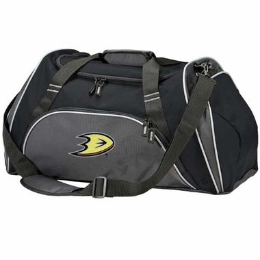 Anaheim Ducks Action Duffle (Color: Black)