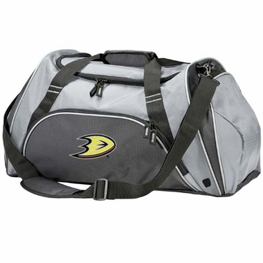 Anaheim Ducks Action Duffle (Color: Grey)