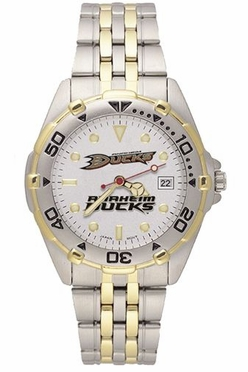 Anaheim Ducks All Star Mens (Steel Band) Watch
