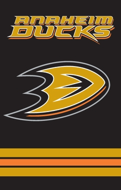 Anaheim Ducks Applique Banner Flag
