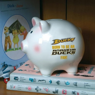 Anaheim Ducks (Born to Be) Piggy Bank