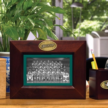 Anaheim Ducks BROWN Landscape Picture Frame