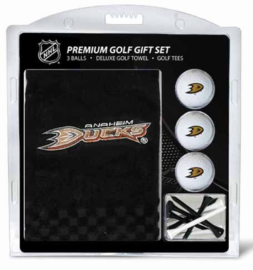 Anaheim Ducks Embroidered Towel Gift Set