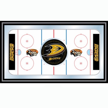 Anaheim Ducks Hockey Bar Mirror