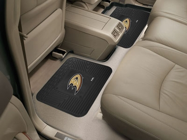 Anaheim Ducks SET OF 2 Heavy Duty Vinyl Rear Car Mats