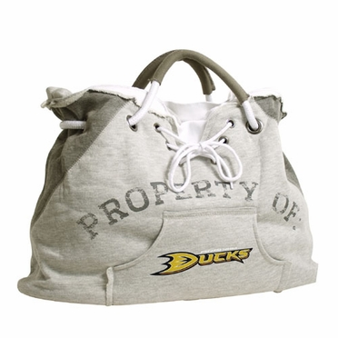Anaheim Ducks Property of Hoody Tote