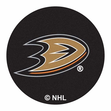 Anaheim Ducks 27 Inch Puck Shaped Rug